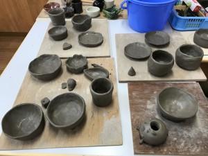 後半陶芸作陶