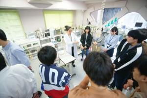 臨床工学技士のたまご~医療機器演習02